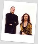 Roberto Stern and Diane von Furstenberg