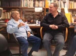 Roberto Stern and Oscar Niemeyer